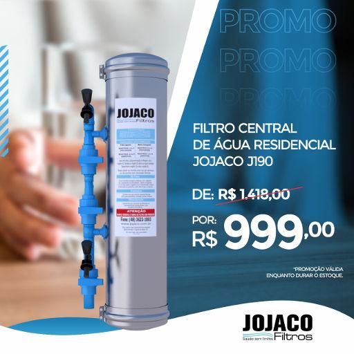 filtro de água residencial